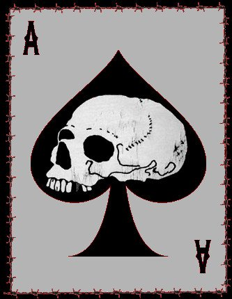 A chapter Death Card